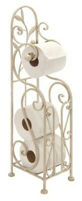Benzara METAL TOILET PAPER HOLDER 24 INCHES HIGH- 63148 TOILET PAPER HOLDER NEW