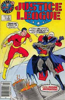 Justice League #3 Near Mint Variant Cover 1987