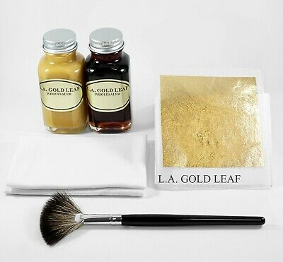 24K Genuine Gold Leaf Kit (5 Sheets : 2oz.)