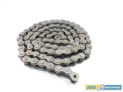 New Morse 127737 100C 1-1/4 In 10Ft Single Strand Cottered Roller Chain D526920