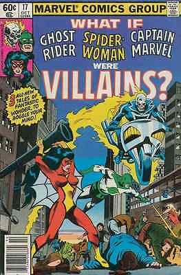 What If? #17 Fine+ 1977 (Spider-Woman Captain Marvel) Marvel Comics Group