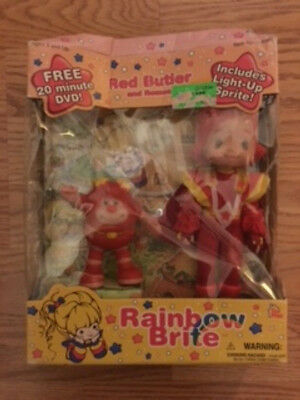 Rainbow Brite Red Butler & Romeo includes DVD (NEW IN BOX) DAMAGED BOX