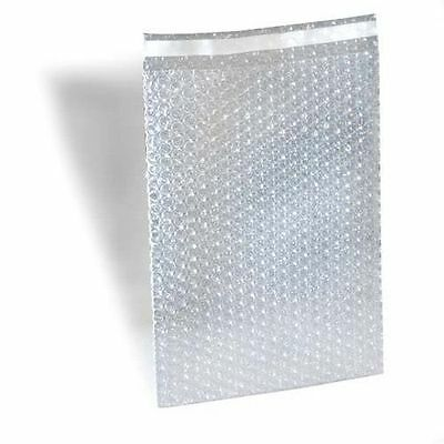200 8x11.5 Bubble Out Pouches Bags Wrap Cushioning Self Seal Clear 100 % Best