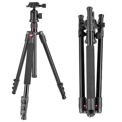 "Neewer 62-inch Alluminum Alloy Camera Tripod with 360° Ball Head & 1/4"" RQ Plate"
