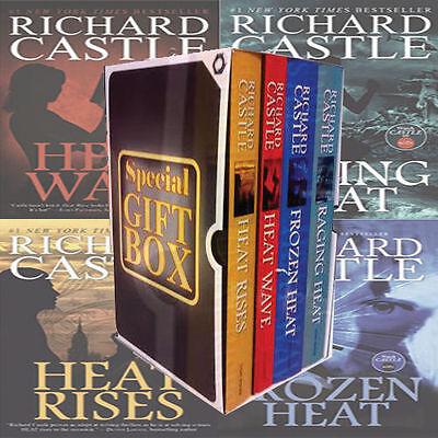 Nikki Heat Series Richard Castle 4 Books Gift Wrapped Box set Specially for you