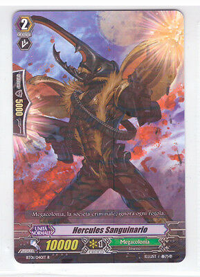 Cardfight VANGUARD Hercules Sanguinario BT01/040IT R