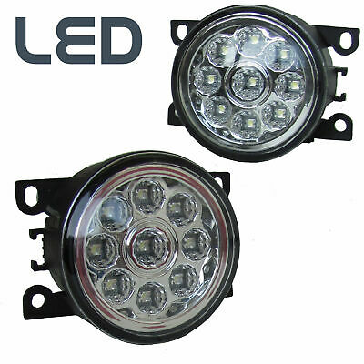 2x LED Front Bumper Fog DRL Lamps lights Range Rover Sport 2010 Autobiography