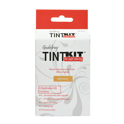 Godefroy 4 Applications Tint Kit For Spot Coloring - Light Brown
