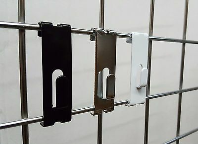Gridwall Utility Hooks For Grid Panels Display / Picture Notch / Hangers