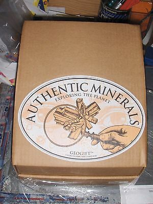Geolinea Rocks and Minerals Collection Wholesale Retail School Geology Science