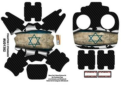 Israel Flag DJI Phantom 3 Standard Decal Skin Wrap Sticker
