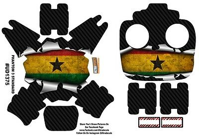 Ghana Flag DJI Phantom 3 Standard Decal Skin Wrap Sticker
