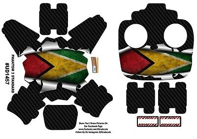 Guyana Flag DJI Phantom 3 Standard Decal Skin Wrap Sticker