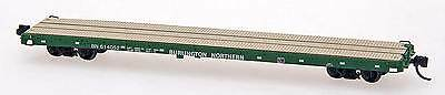 Intermountain N 60' flat car Burlington Northern- you pick road #