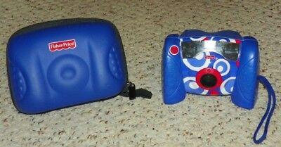 Fisher Price Kid Tough Digital Camera w/ Carry Case - Blue
