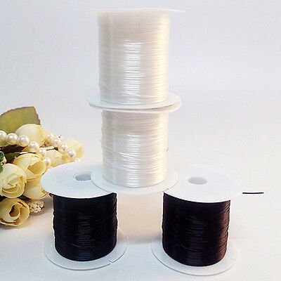 2 Roll Strong Stretchy Elastic Beading Cord Thread String For Necklace Bracelet