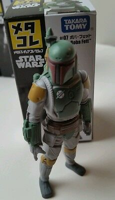 Boba Fett TAKARA TOMY Metal Figure Star Wars storm MIB bounty hunter scum IN USA