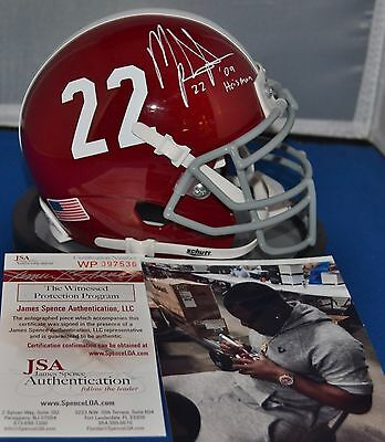 Mark Ingram Autographed Alabama Crimson Tide Mini Helmet 2009 Heisman Jsa