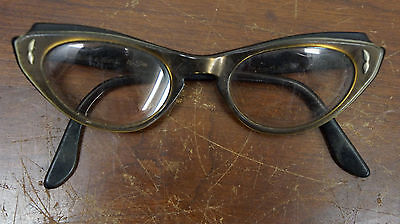 Vintage Bausch & Lomb Cat's Eye glasses Rx prescription 4 - 5 1/4 sunglasses