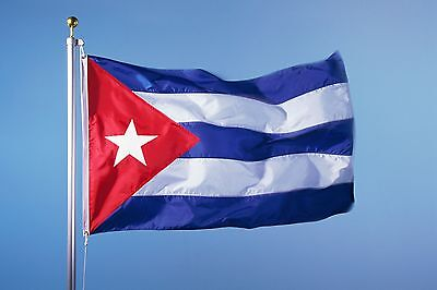 3x5 foot Cuba Flags Cuban Flag FLY Banner Bandera Cubana Indoor Outdoor Bandera