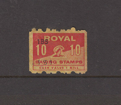 UK c 1970s Red Coil ROYAL SAVINGS STAMPS - MUH