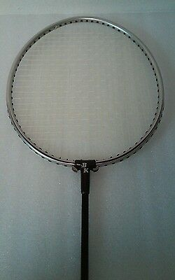 Black Knight Vintage Badminton Racket BK-C750 great shape Super Rare EUC