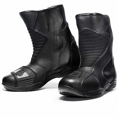 Agrius Delta Waterproof Motorcycle Short Boots Scooter Motorcycle City Leather
