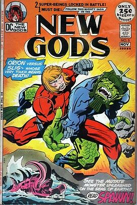 DC The NEW GODS #5 (1971) Jack Kirby - No stock images