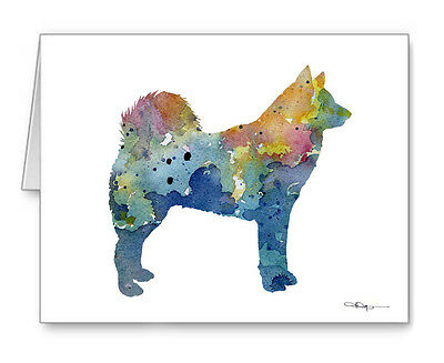 FINNISH SPITZ Note Cards With Envelopes