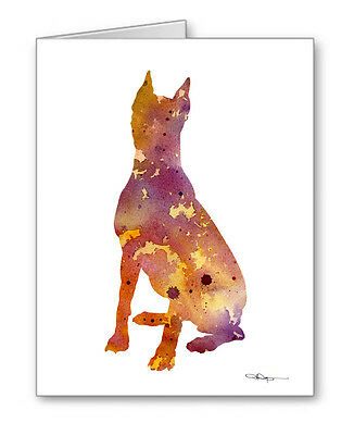 GERMAN PINSCHER Note Cards With Envelopes
