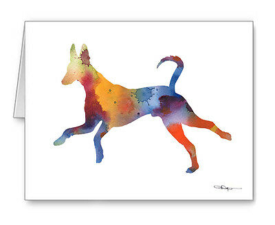 IBIZAN HOUND Note Cards With Envelopes