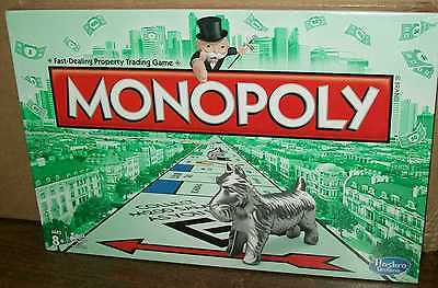 MONOPOLY 2013 CLASSIC EDITION WITH NEW CAT TOKEN NEW SEALED AUTHENTIC  #sw-1078