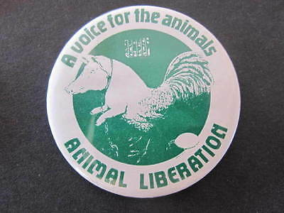 Animal Liberation Political Badge