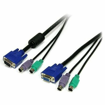 StarTech.com SVPS23N1_10 - 10FT PS/2-STYLE 3-IN-1 KVM - SWITCH CABLE UK