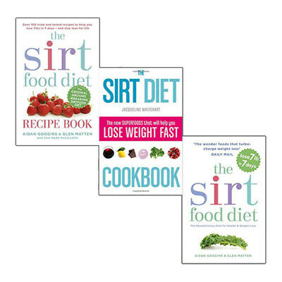 The sirtfood diet recipe book collection 3 books set the sirt diet the sirtfood diet recipe book collection 3 books set the sirt diet cookbook new forumfinder Image collections