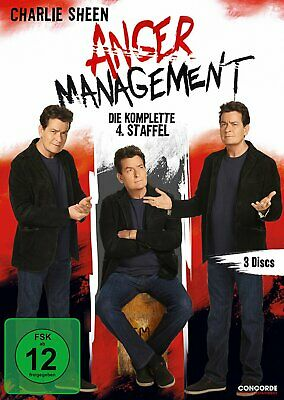 Anger Management - Die komplette Season/Staffel 4 # 3-DVD-BOX-NEU