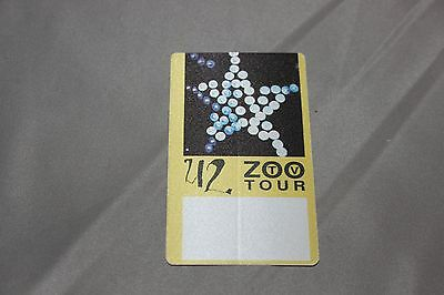 U2 Zoo Tour Official Unused  Backstage Pass Otto