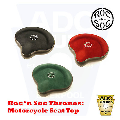 Roc 'n' Soc Motorcycle Drum Kit Throne Seat Top (Cloth Saddle Stool)