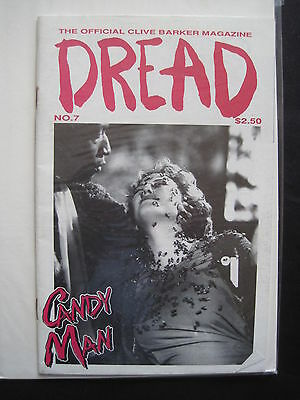 The OFFICIAL CLIVE BARKER MAGAZINE : DREAD No. 7. CANDY MAN. FANTACO. 1992