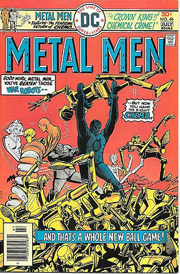 Metal Men Comic Book #46, DC Comics 1976 VERY FINE+