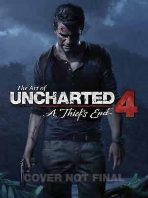 The Art of Uncharted 4: A Thief's End by Naughty Dog (English) Hardcover Book