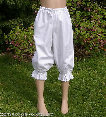 Girls Victorian / Edwardian  BLOOMERS costume fancy dress age 6 yrs