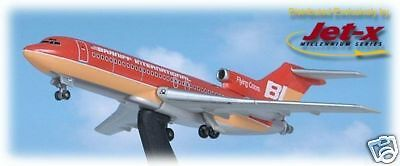 JET-X~Braniff International~B727-200 Red~400~Jet-032