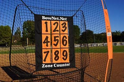 Bownet ADD ON Pitching Zone Counter Baseball Batting Training Practice accessory