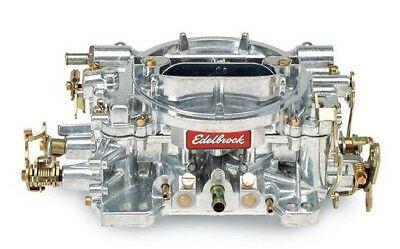 Edelbrock 1405 600 CFM Satin Finish Manual Choke Performer Carb Carburetor