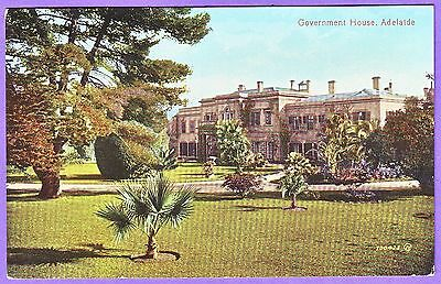 Australia Government House Adelaide Postcard