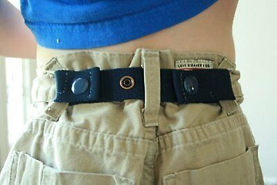 New Toddler Boys & Girls DAPPER SNAPPER Adjustable Belt ~ Pick Color