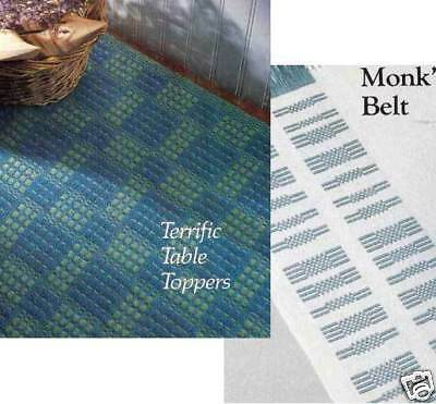 Handwoven's Design Collection 10:tablecloths,placemats