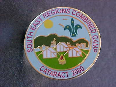 South East Regions Combined Camp Cataract 2000 Badge
