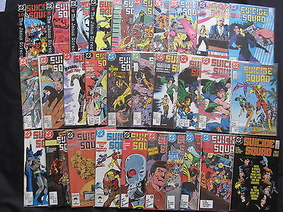 SUICIDE SQUAD : COMPLETE 66 ISSUE DEBUT 1987 DC SERIES by OSTRANDER,McDONNELL et